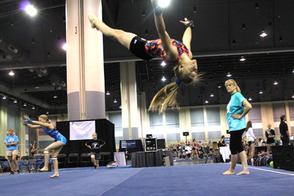 Tampa hosted 2,000 YMCA gymnasts July 2-5, 2014