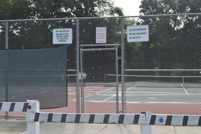 Secure Tennis Courts