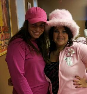 Stafford Holds Pink Pajama Party
