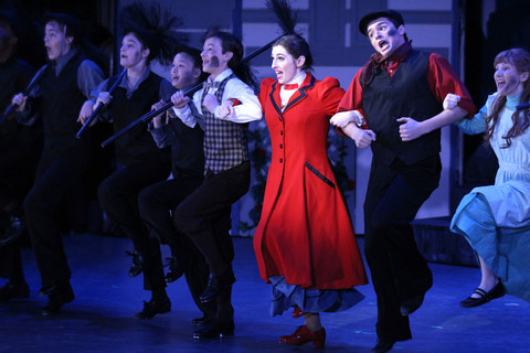 Summit High School's 'Mary Poppins' Sets the Pace with 18 ...