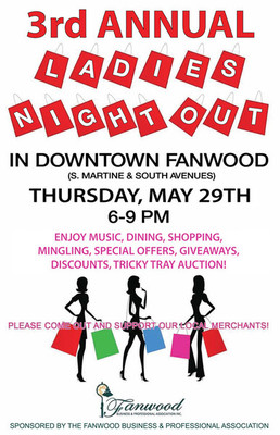 Ladies Night Out in Fanwood on May 29, photo 1