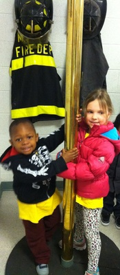 Kirby Preschoolers Visit Fire and Police Departments, photo 1