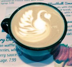 Latte Swan