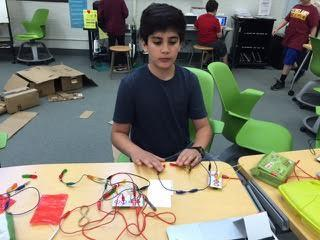 Circuit Training: SEF Grant Brings Inventor's Workshop to LCJSMS Students
