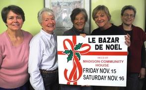 "Thursday Morning Club's Committee for ""Le Bazar de Noel"""