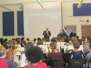 Randolph Middle School Sixth-Grade Band to be on NJ Network 'Classroom Close-up' in March, photo 4