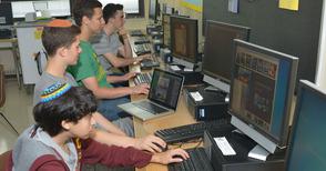 Golda Och Academy Upper School Computer Lab