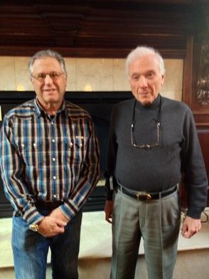 Mike Brick and Bob Rosenzweig