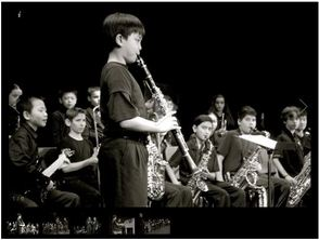 Mt. Pleasant Middle Jazz Musicians