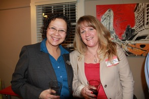 Frances Grebenstein and Wendy Long