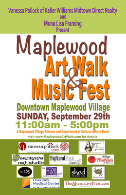 Maplewood's Annual 'Art Walk & Music Fest' is This Sunday, photo 1