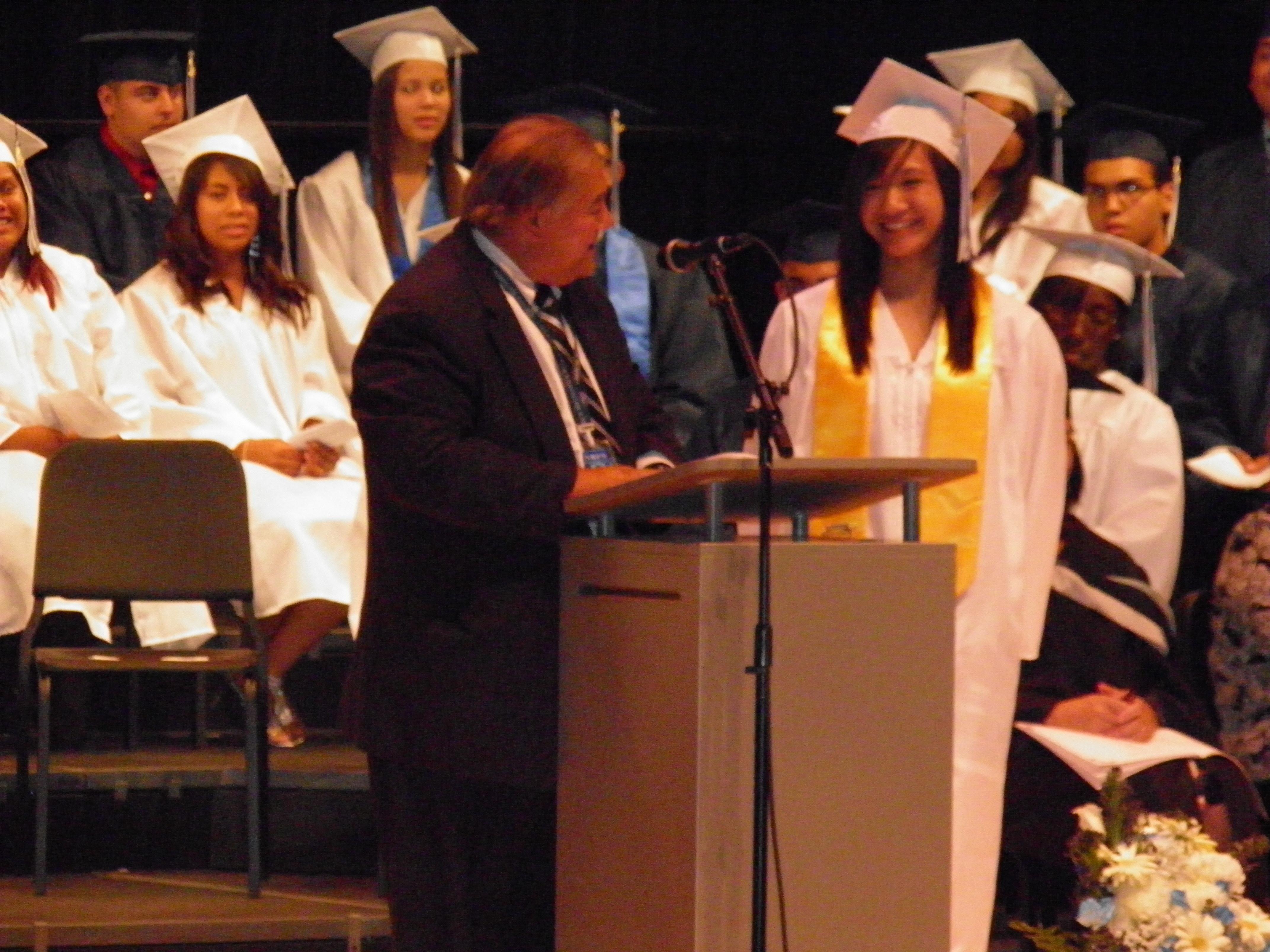 city high schools confer diplomas to 240 graduates new brunswick new brunswick health sciences technology high school salutotarian yesenia hernandez
