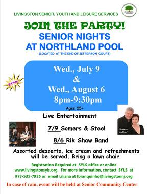 Evening Pool Parties at Northland Pool