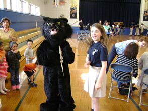 Our Lady of Peace Academy Holds Pep Rally for Panther Power Robotics Team, photo 3