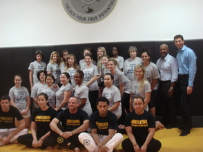 Mayor's Wellness & Combination Martial Arts Host Women's Self Defense Class, photo 1