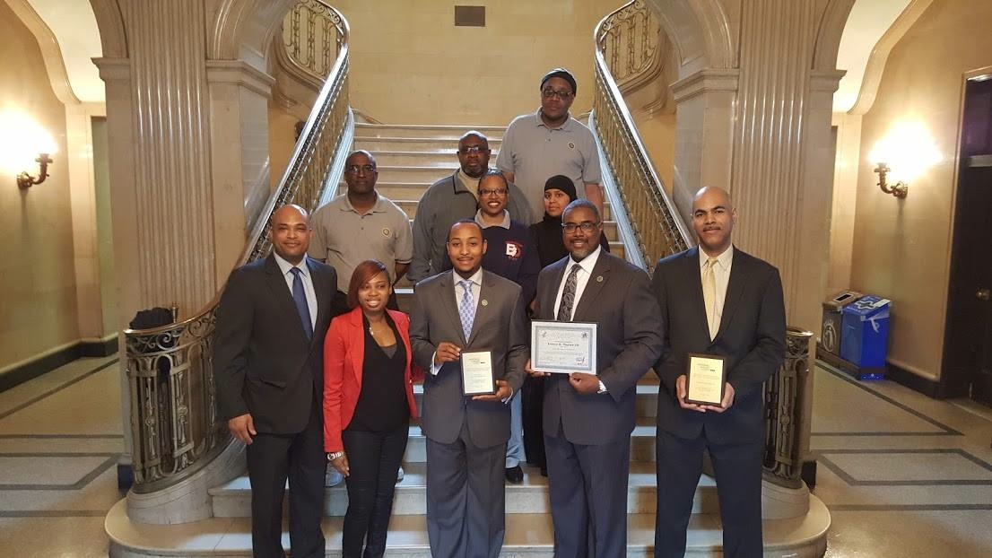 Mayor Lester Taylor Receives Presentation from U.S. Dept. of Health and Human Services for Let's Move! Campaign