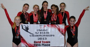 Gold Team Finishes 5th in NJ
