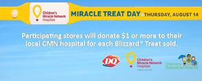 Dairy Queen Celebrates Ninth Annual Miracle Treat Day Today, photo 1