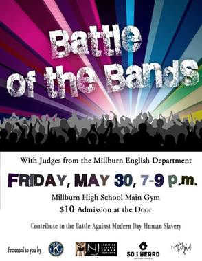 Millburn High School Battle of the Bands!
