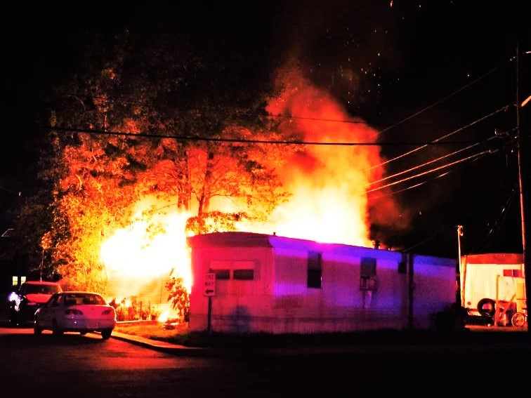 South Brunswick Mobile Home Park Fire Displaces Seven