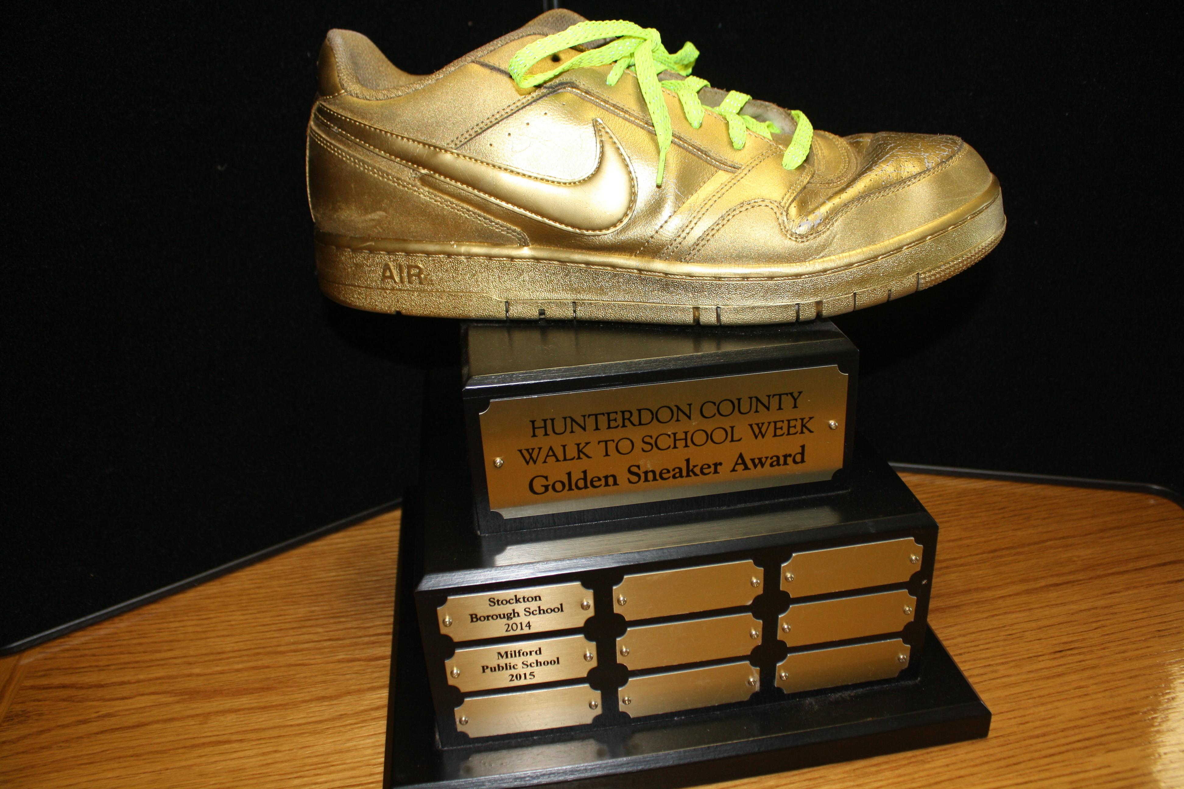 Students Compete for Golden Sneaker Award - Flemington/Raritan NJ ...
