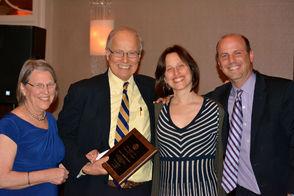 Dr. Susan Profeta, Fred Profeta and their children Katherine and Tim