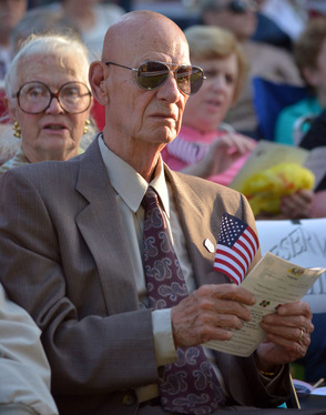 Korean War Vet Donald Wussler
