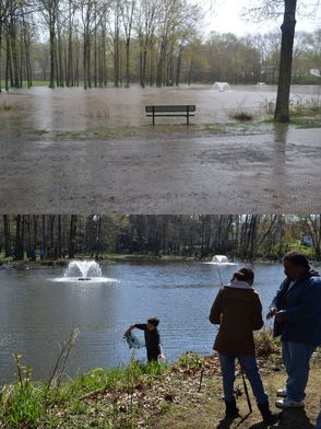 Before and After -- Green Acres Park