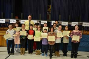 Wilson School Geography Bee semi-finalists