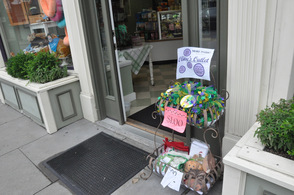 Treats for fido at Maxwell and Molly's Closet.