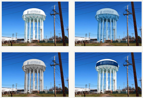Which Lansdale NPWA Water Tower Paint Job Do You Like?, photo 1