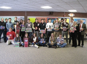 Newton High School Supports the Season of Hope Toy Drive