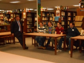 Gov. Livingston Alumni Return For 'College Student Forum', photo 2