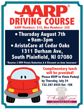 AARP Driving Course Offered at AristaCare, photo 1