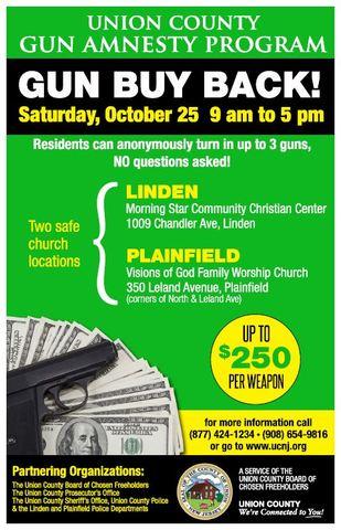 Union County Announces Countywide Gun Buyback Program ...