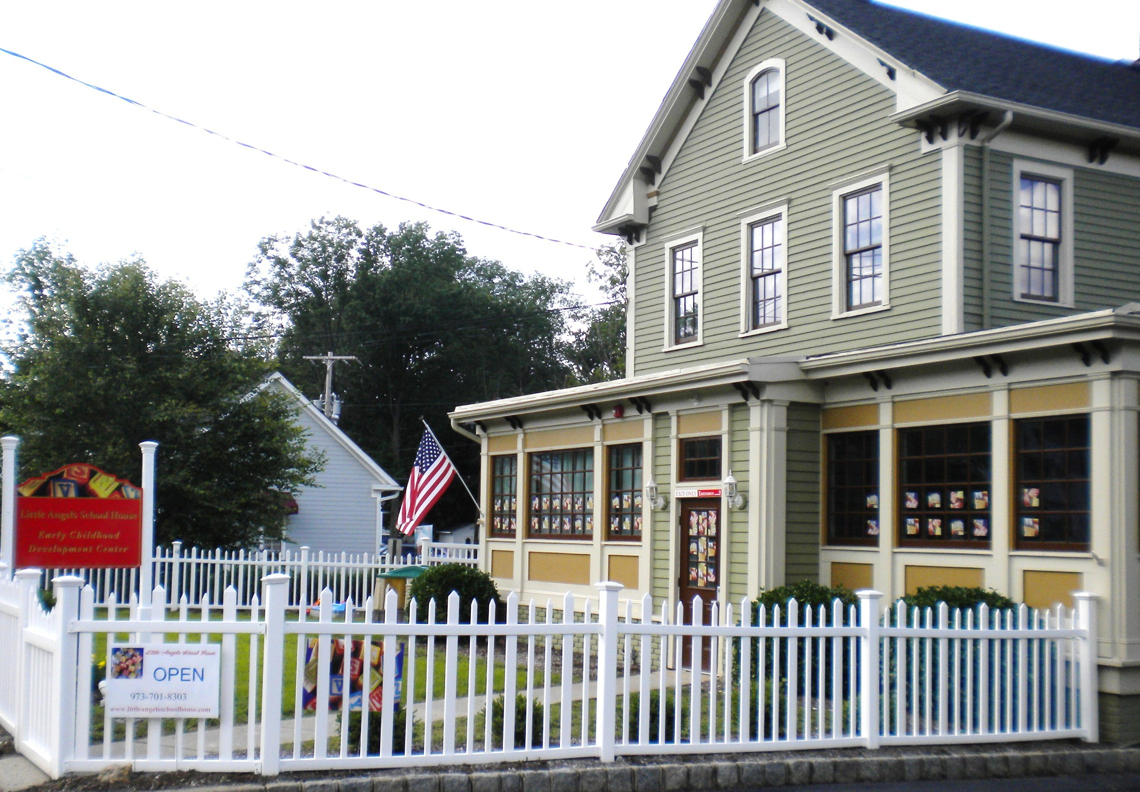 Little Angels School House Is Located At 110 Main St Chatham Credits Tap