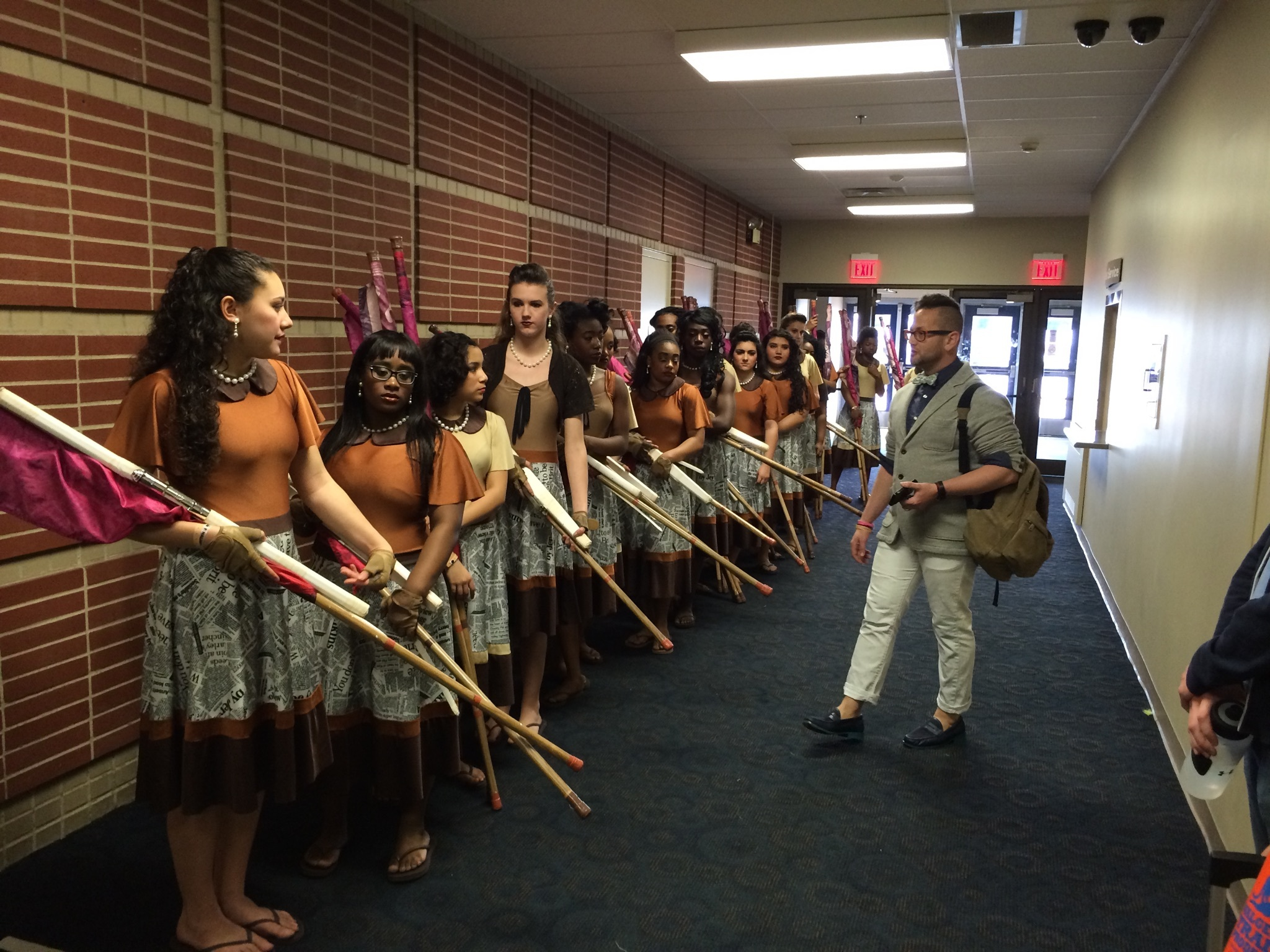Articles about color guard - West Orange Winter Color Guard Takes Gold Medal At Main Championships