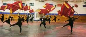 WOHS Winter Color Guard