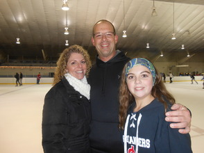 Community Enjoys Gov. Livingston Varsity Hockey Holiday Skate , photo 2