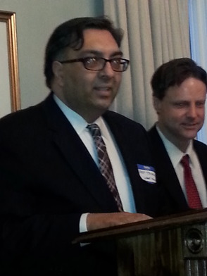 Arp Trivedi addresses Short Hills Association
