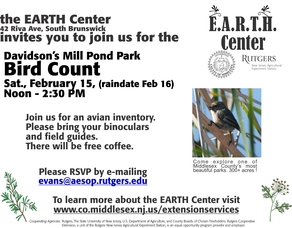 EARTH Center Birdcount, photo 1