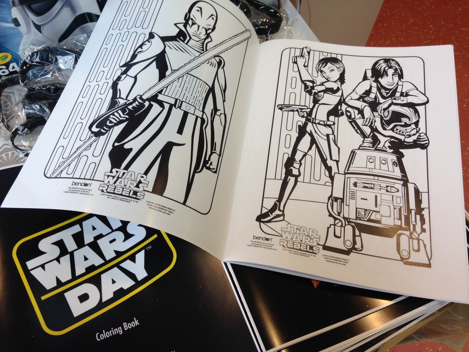 Childrens hospital coloring book - Morristown Nj On Wednesday May 4 The Goryeb Children S Hospital Celebrated May The 4th Be With You Day May 4 2016 By Inviting Star Wars Characters