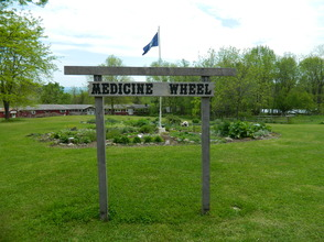 Medicine Wheel Garden at Lusscroft Farm