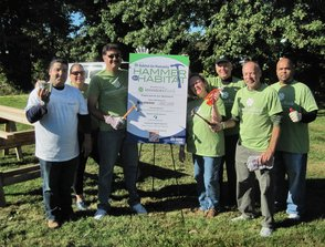 "FIRST ANNUAL ""HAMMER FOR HABITAT"" BUILDS SUPPORT FOR MORRIS HABITAT"