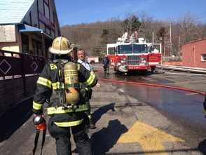 Q.J. Green Garden Restaurant Catches Fire in Millburn , photo 2