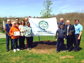 Arbor Day at Mt. Pleasant