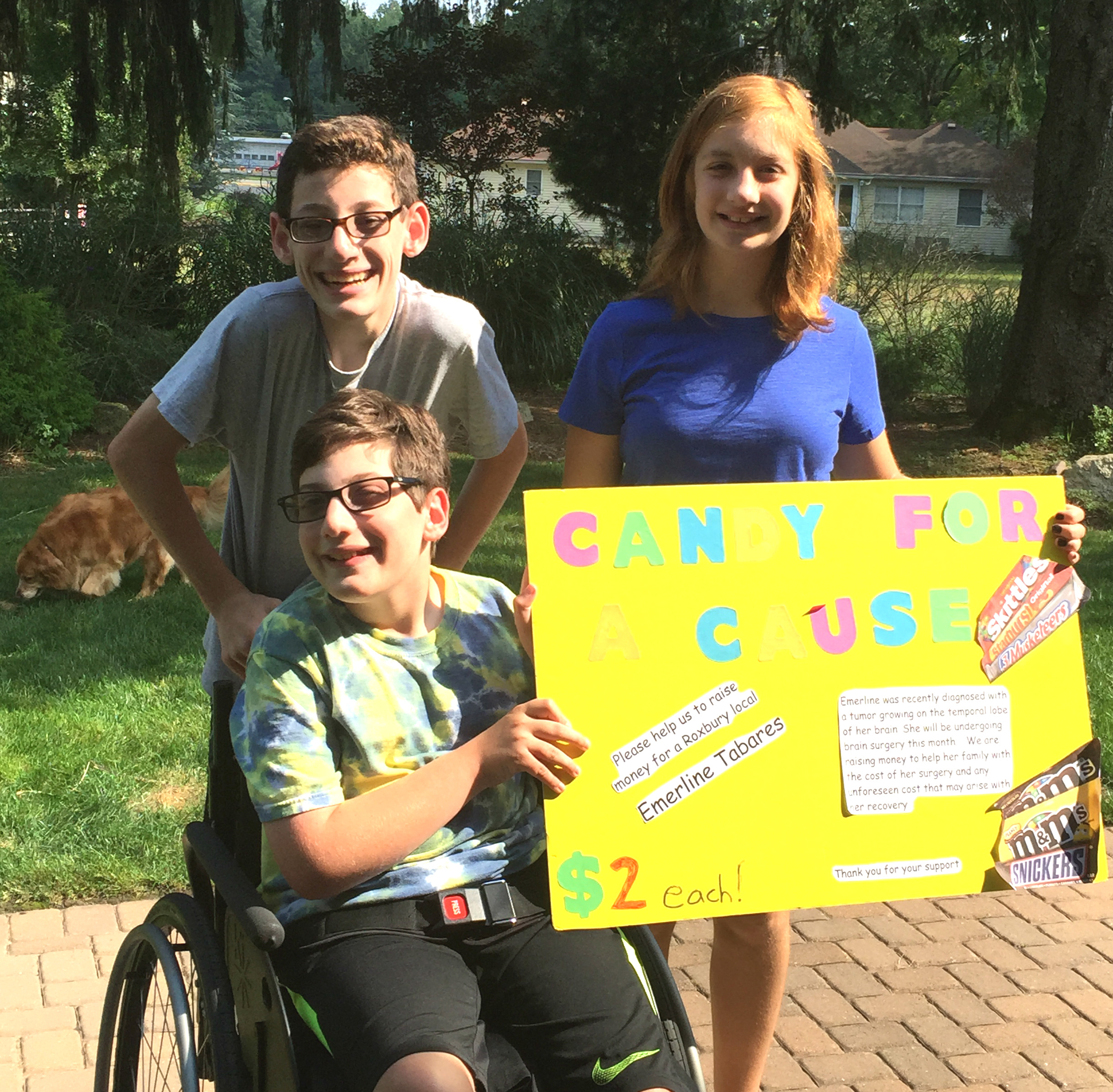 Wheelchair Can't Stop Thoughtful Roxbury Kids