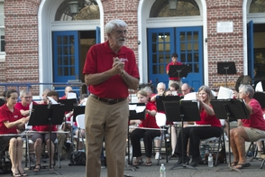 Community Band Entertains Audience on the Lawn of Montclair High, photo 2