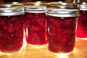 Canned Cherries.