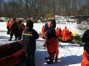 City Firefighters Undergo Ice Rescue Training, photo 2